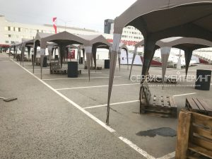 Саммит Концерн Калашникова фуршет на 700 персон Шатры
