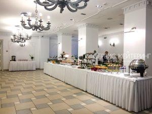 Фуршет в Банкетном Зале ДОМ, первый этаж